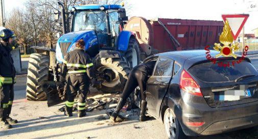 l'incidente di oggi a Mansuè