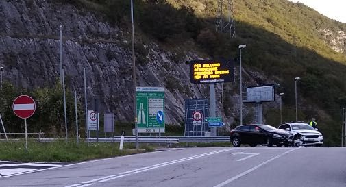 Incidente svincolo A27 Vittorio Veneto nord