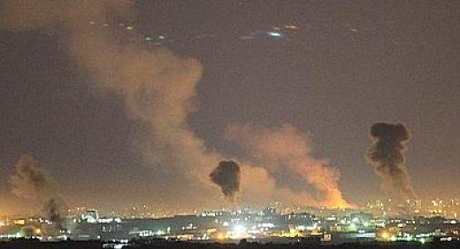 F16 e Apache contro Gaza