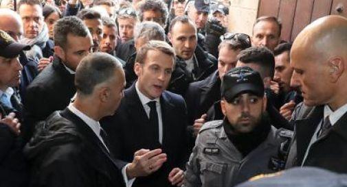 Macron perde la pazienza