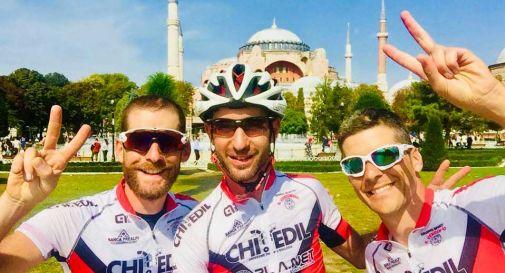 Da San Vendemiano a Istanbul, in bicicletta