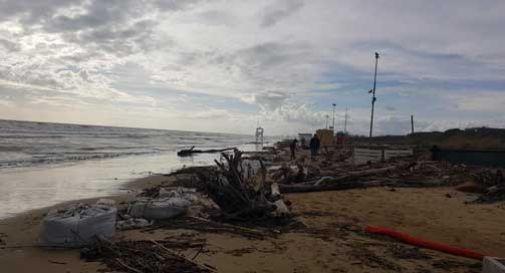Anche la spiaggia di Jesolo devastata dal maltempo: danni per 40 milioni di euro