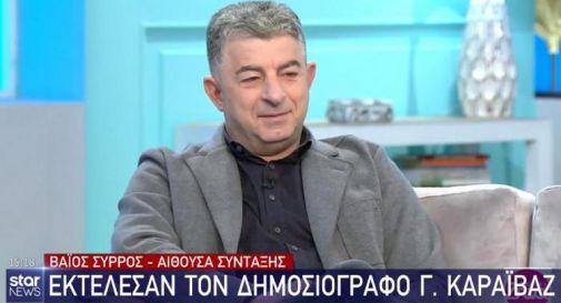 Giornalista ucciso in agguato, choc ad Atene