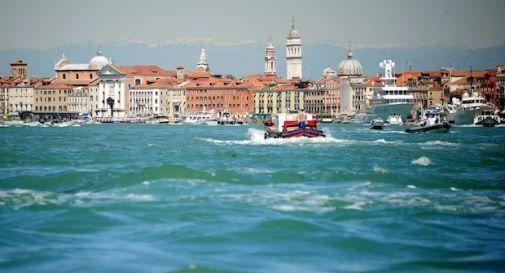 Una villa romana in laguna Venezia, parte indagine archeosub