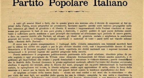 I cattolici e la partecipazione alla politica 100 anni dopo il PPI di Sturzo