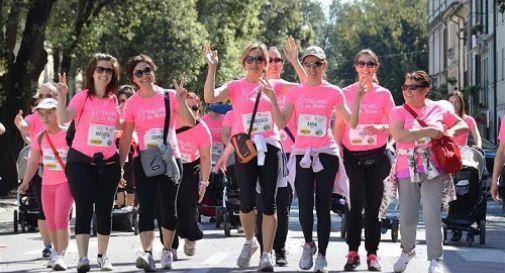 Mille donne in cammino contro i tumori al seno