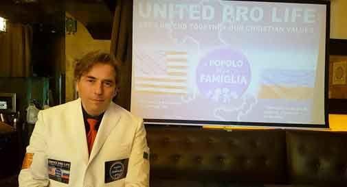 Conegliano, l'ultracattolico Damiano si candida da New York: