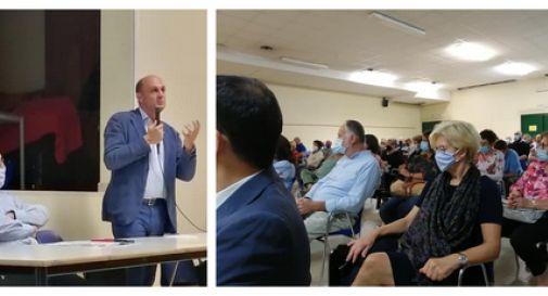 Elezioni regionali: l'incontro di Arturo Lorenzoni con Castelfranco
