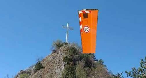 Vittorio Veneto, autovelox sul Monte Altare e all'ingresso del traforo