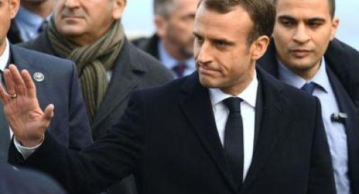 La resa di Macron