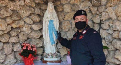 Ritrovata la statua della Beata Vergine rubata a Ospedaletto