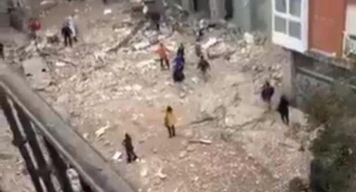 Madrid, esplosione distrugge palazzo: 3 morti