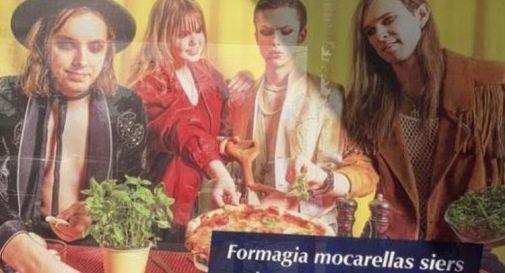 Maneskin, i sosia nella pubblicità della mozzarella... in Lettonia