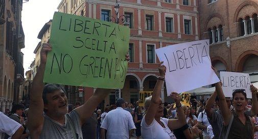 manifestazione no green pass Treviso