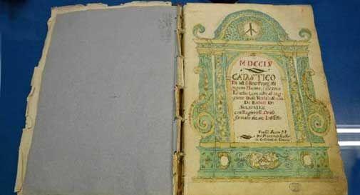 Vittorio Veneto, 12mila euro per restaurare gli antichi manoscritti