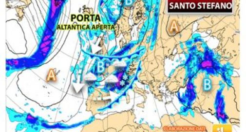Natale con freddo e neve: le previsioni per il 25-26 dicembre