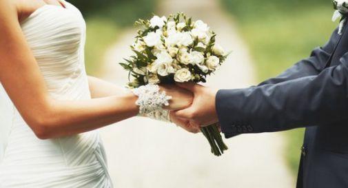 Prende la motosega e lancia i rami nel giardino del ricevimento: il matrimonio diventa un incubo