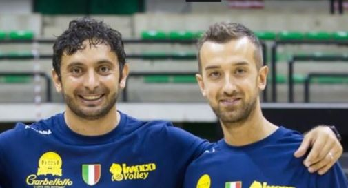 a sinistra Davide Mazzanti, a destra Daniele Santarelli