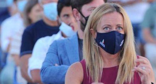 Sondaggi politici, cala la Lega sale Fratelli d'Italia