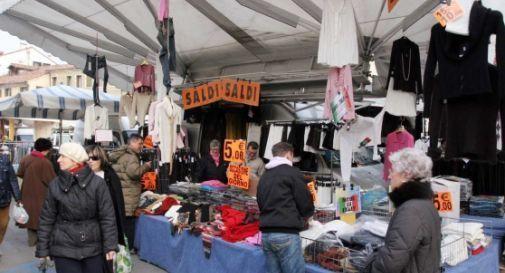 un mercato (foto d'archivio)