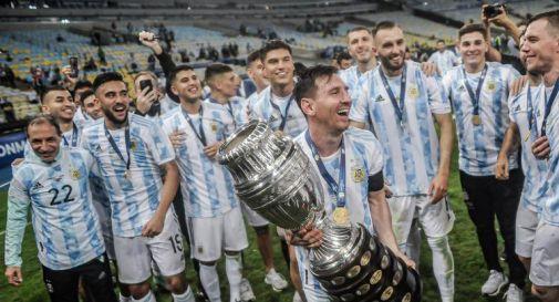 Messi con la Coppa