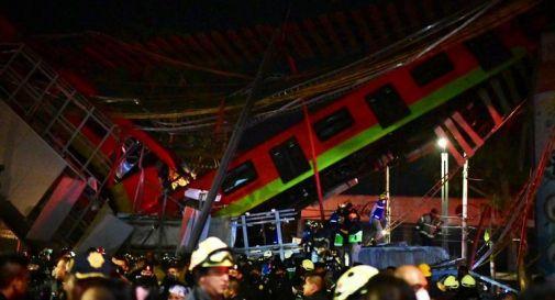 Messico, crolla un ponte al passaggio della metro: 15 morti