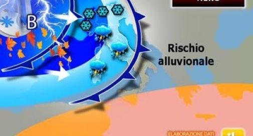 Meteo, nubifragi su mezza Italia: quando e dove