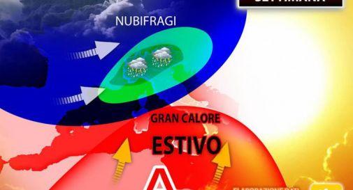 Fiammata africana e nubifragi, ecco dove: previsioni da lunedì 24 maggio