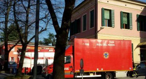 Trolley sospetto, municipio di Vedelago evacuato