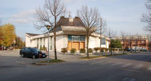 la chiesa di san Carlo a Mogliano
