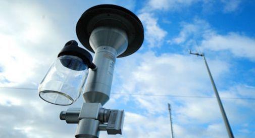 monitoraggio aria Arpav a Col San Martino