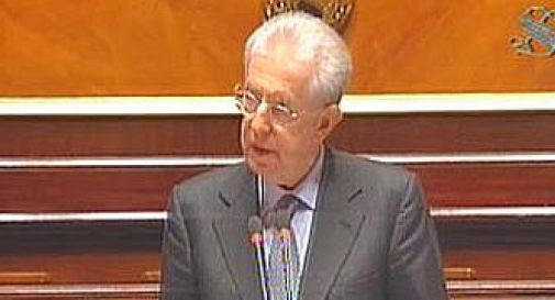 Caso marò, Monti in Parlamento