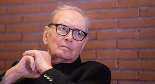 Il celebre compositore Ennio Morricone