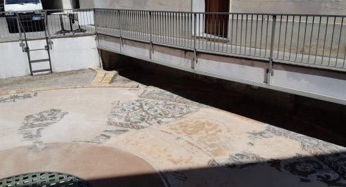 Mosaico vicino al duomo di Treviso