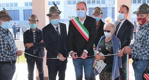 Inaugurazione mostra degli alpini a Mogliano