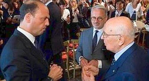 Napolitano bacchetta Alfano