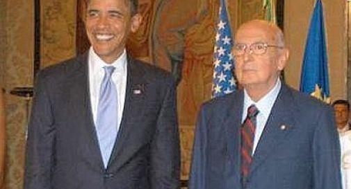 Obama ospita Napolitano a Blair House, privilegio per pochi