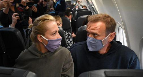 Navalny e la moglie