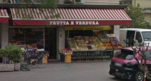 il negozio di via Zermanesa