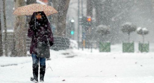 Arriva il grande gelo. Neve in tutto il Veneto