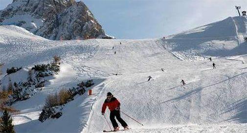 Neve e freddo, a Cortina di scia dal 18 novembre