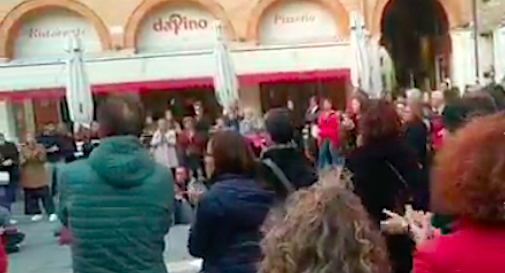 sit-in no pass Treviso