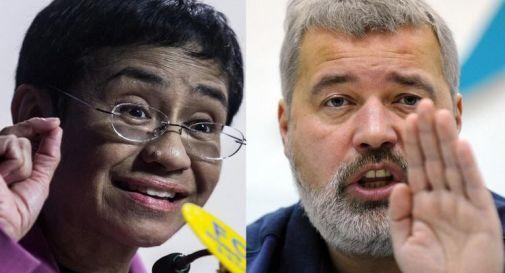 Nobel per la Pace 2021 a Maria Ressa e Dmitry Muratov