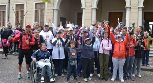 Disabili in marcia da papa Francesco