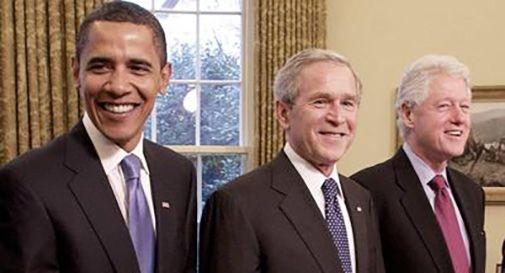 Obama, Bush e Clinton si faranno vaccinare 'in diretta'