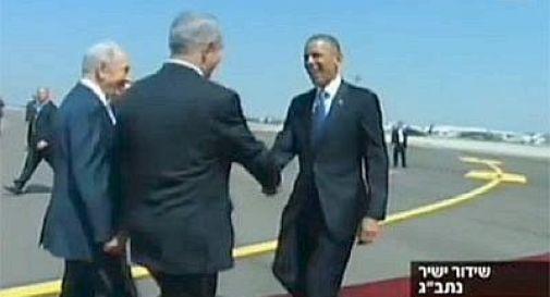 Obama per la prima volta in Israele