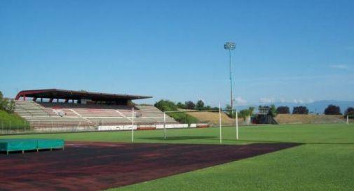 l'impianto sportivo di Oderzo