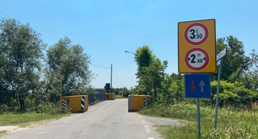 Lavori al ponte Cervada a Fontanelle: presente un archeologo