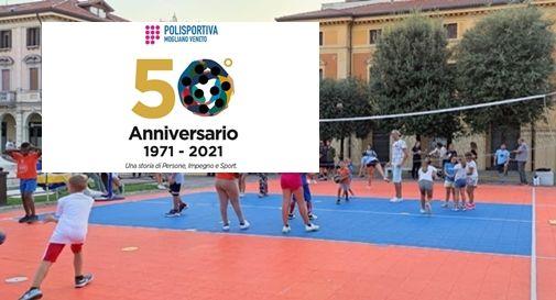 Festeggiamenti per i 50 anni della Polisportiva Mogliano Veneto