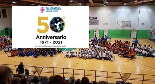 Cinquantesimo anniversario della Polisportiva Mogliano